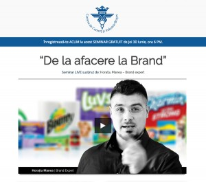 de la afacere la brand horatiu manea camera de comert si industrie brasov 30 iunie 2016